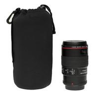 Universal Matin neopreno a prueba de agua suave de la cámara de vídeo bolsa de la bolsa bolsa de tamaño completo S M L XL para Canon Nikon