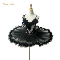 2018 professional ballet tutu women white black swan adult b...