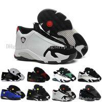 reputable site 0ceea 19f7b 14 XIV Black Toe hombres zapatos de baloncesto moda 14S zapatos deportivos  con zapatos tamaño de