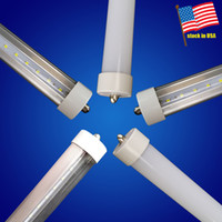 8ft led tube FA8 both sides Light T8 LED Tube 45W For cooler...