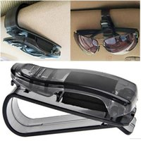 sun glass mini holder car sun shield clips sunglass ticket c...