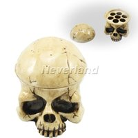 [Gezond leven] Professionele Devil Style Skull Tattoo Ink Cup Cap Holder Supply