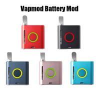 Vapmod VMOD Batterie 900mah Preheat VV Tension Variable Vape Stylo Mod Kit Batterie Pour 510 Épaisses Cartouches D'huile Sans Xtank Plus