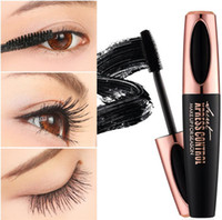 Original Macfee Silk Fiber Eyelash Maquiagem À Prova D 'Água Escova de Silicone Cabeça Máscara Alongamento Espesso Rímel DHL