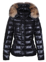 Classic Brand Women Winter Warm Down Jacket con collo di pelliccia Feather Dress Giacche Womens Outdoor Down Coat Donna Fashion Jacket Parkas M1