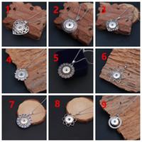 Мода шарм съемки кнопки подвеска ожерелье 18 мм имбирь подходит для женщин и мужчин аксессуары подарок с цепной из нержавеющей стали Новый DIY ювелирные изделия