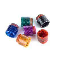 Honeycomb Snake Skin Epoxy Resin Drip Tips For TFV8 TFV12 Bi...