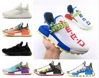 quality design a4d05 8a6bf Pharrell x raza humana L4ND Afro Hu Trial Solar Pack NERD Homecoming para  hombre mujer zapatillas