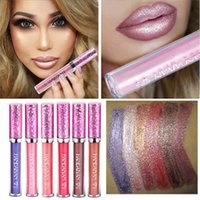 New Metallic Glitter Matte Liquid Lipstick Waterproof Makeup...