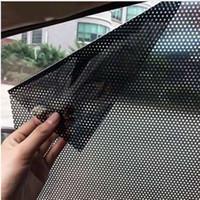 2 Adet / grup Araba Styling Pencere Folyo Sticker Araba Güneşlik Oto Araç Güneş Blok Güneş gölgeleme Elektrostatik Çıkartmalar