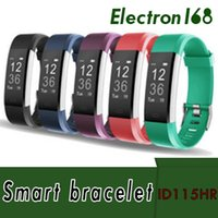 2018 ID115HR PLUS Smart Bracelet Sport Fréquence Cardiaque Smart Bande Fitness Tracker Bracelet Smart Watch GPS ID115 PLUS