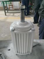 2.5KW / 2500W 350RPM 낮은 RPM 수평 바람 수력 발전기 / 영구 자석 수력 dynamotor 수력 터빈