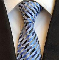 Yeni Erkekler Bağları İpek Paisley Jakarlı Kravat Düğün Balo Parti Boyun Kravatlar erkek İş Resmi Bağları Moda Kravat Çizgili Ekose Kravatlar