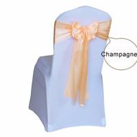 Cubierta de la silla Sash Sash Fajas decoración de la boda para hotel de eventos de la fiesta de bodas