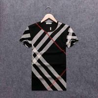 f8dfa38a2 Marca Summer Mens camiseta con cuello redondo Hip Hop Streetwear # 1295  Hombre Sport Casual camiseta