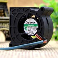 SUNON GB1245PKV1-8 DC12V 0.5W 3 ligne turbo ventilateur ventilateur de projecteur