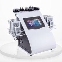 Liposuccion ultrasonique de haute qualité nouveau modèle 40k cavitation 8 tampons laser lipo LLLT amincissant la machine vide rf soins de la peau salon spa équipement