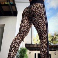 Leopard Sports Leggings Women Push Up Yoga Pants High Waist ...