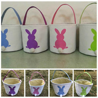 Easter Bunny Baskets DIY Rabbit Bags Bunny Storage Bag Jute ...