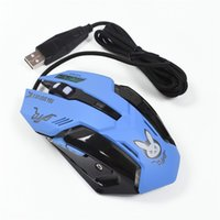 2018 new Wired gaming mouse backlit breathing light wired US...
