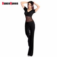Traje de la bailarina del vientre sexy del desgaste de la etapa 2 PCS (Top + Pantalones) Lady Dancewear Dancing Female Práctica / Perfermos Ropa Danza del Vientre