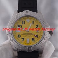 Sıcak Satış 1884 Otomatik Mekanik Hareketi Erkekler İzle Çelik WatchCase Sarı Arama Spor Kauçuk Kemer Erkek Kol Saati A1733110