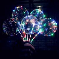 보 보 공 스틱 웨이브 공 3M 문자열 풍선 빛 크리스마스에 대 한 최대 할로윈 결혼식 생일 집 파티 장식 DHL