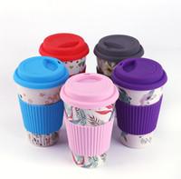 Новинка бамбуковое волокно порошок кружки кофейные чашки Молоко питьевой Кубок путешествия подарок Эко Бесплатная доставка SN2088