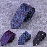 Hommes Cravates Nouvelle Marque Homme De Mode Point Cravates Gravata Jacquard 6 cm Cravate Slim Corbatas Hombre 2018 Cravate De Mariage Pour Hommes