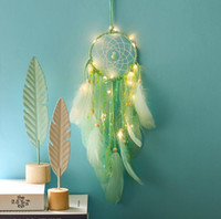 Handmade Dream Catcher Hoop Decora Crafts Dreamcatcher Wind ...