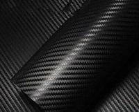 20PCS 127cm * 10CM couleur 3D Modification Film Habitacle de voiture entier Couleur du véhicule Changement Coller couleur en fibre de carbone Changement fibre autocollant