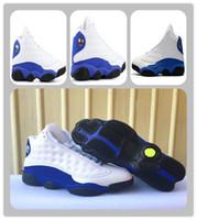 Z pudełkiem 13 Hyper Royal 13s oliwkowy pszenny buty do koszykówki XIII XIII 13S Hyper Royal Black Sports Sneakers Mens Athletics Boots