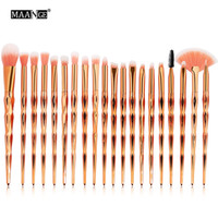 20PCS Makeup Brushes Set Professional Eyeshadow Eeybrow Eyel...