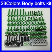 pernos carenado completo kit de tornillos para Kawasaki 650R ER6f 06 07 08 ER 6F 06-07 ER6f 2006 2007 2008 25colors juego de pernos tornillos tuercas del cuerpo de tuerca