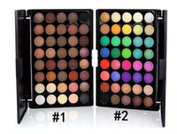 المصنع مباشرة DHL شحن مجاني جديد ماكياج Popfeel 40 ألوان ظلال العيون لوحة! 2 ألوان مختلفة