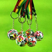 NEW Simulation Small Football Key chain Fan Souvenirs Activi...