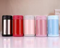 17oz 500ml Thermo Becher Vakuum Tasse Edelstahl Thermoskanne Flasche Bauch Tasse Thermische Flasche für Wasser isoliert Tumbler für Auto Kaffee Becher