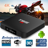 iLEPO T95 S1 Android 7.1 TV-KASTEN 2GB 16GB Amlogic S905W Quad-Core 2.4G Wifi LED-Anzeige Streaming Media Player