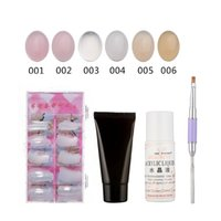 30ml 4pc Poly Gel Set Manicure Extension Quick UV Builder Ge...