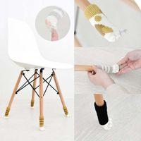 Gestrickte rutschfeste Cat Claw Stuhl Tischbeine Ärmelabdeckung Möbel Bein Socken Bodenschoner Robuste antistatische Matte Türgriffhandschuhe