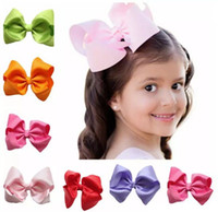 2017 NEW Fashion Boutique Ribbon Bows For Hair Bows Hairpin ...