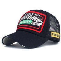 الصيف قبعة بيسبول التطريز شبكة كاب القبعات للرجال النساء snapback gorras hombre القبعات عارضة الهيب هوب قبعات أبي casquette