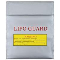 RC LiPo 리튬 포 배터리 내화 안전 가드 안전 가방 충전 자루 18cmx23cm