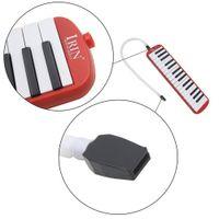 IRIN 1 комплект 32 ключ фортепиано стиль мелодика с коробкой орган аккордеон рот кусок удар ключ доска (Красный)