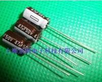 500 sztuk 47UF 50V kondensator elektrolityczny, 50 V 47 6x11 mm kondensatory mikroforad
