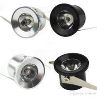 6 couleurs LED éclairage bureau à domicile lumières downlights à LED 1W 3W éclairage intérieur mini downlight encastré puce haute puissance LED