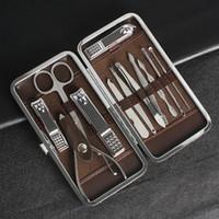 الجدة العملي مانيكير مجموعة باديكير مقص الملقط سكين الأذن اختيار أداة مسمار المقص كيت المقاوم للصدأ أدوات العناية دعوى جديد 8 8nb zz