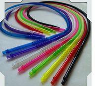 Tubo narghilé monouso arabo narghilè tubo shisha accessorio PVC acrilico boccaglio colore misto narghilé tubo vendita diretta della fabbrica