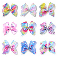 29 Patterns 5' ' Unicorn Hair Bows Unicornio Easter...