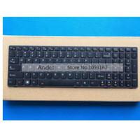95 Nieuwe Amerikaanse Engelse toetsenbord voor Lenovo Y580 Y580N Y580A Y590 Y500 Y500N Y510 Y510P Serie Zwart toetsenbord met achtergrondverlichting